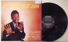 """MINT  """"MISTER"""" Little Willie John 1958 3rd LP Sing 603 Denmark Mono 1987 REISSUE"""