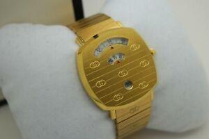 Gucci Grip yellow-gold PVD YA157409 38MM Watch