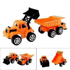 Kids Set of 2 Construction Vehicles Toddler's Excavator Construction Dump Truck