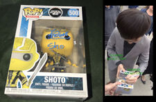 Philip Zhao signed Shoto funko pop vinyl figure Ready One Player photo proof