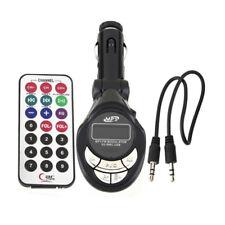 Car Wireless USB FM Transmitter Modulator SD CD MMC Remote XRC Stereo MP3 Player