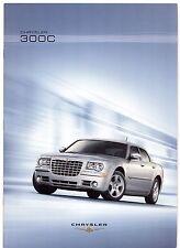 Chrysler 300C Saloon 2007-08 UK Market Sales Brochure 3.0 V6 CRD 6.1 V8 STR8