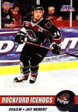 2002-03 Rockford Ice Hogs #17 Jay Hebert