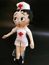 "2012 Betty Boop Nurse Outfit 13"" Rag Doll by KellyToy"