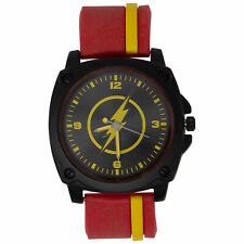 Flash Symbol Red and Yellow Watch Red