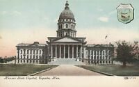 LAM(B) Topeka, KS - Kansas State Capitol Building - Exterior and Grounds