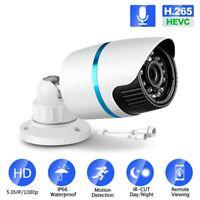 5MP/2MP/3MP Security IP Camera POE H.265 Audio ONVIF IP67 Waterproof CCTV Cam