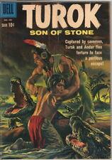 Turok Son Of Stone Comic Book #22, Dell 1961 Very Good+