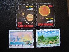 SAINT-MARIN - timbre yvert/tellier n° 1368 1369 1396 1397 n** MNH (COL3)