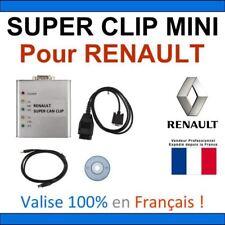 SUPER CLIP MINI - Valise RENAULT et Multimarques - OBD2 AUTOCOM DELPHI