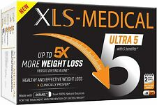 XLS Medical Ultra x 5 Weight Loss Capsules Reduces Calories Dietary Supplements