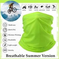 Neck Gaiter Cycling Face Shield Sport Balaclava Biker Bandana UV Protection