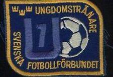 SWEDEN FOOTBALL ASSOCIATION JERSEY LOGO PATCH NEW