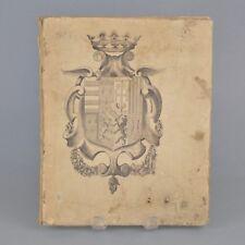 Livre Le simple crayon noblesse des duchés de Lorraine et de Bar 1857