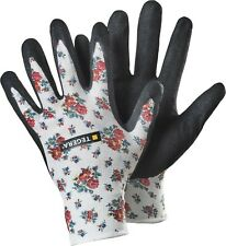 ~~ TEGERA 90065 Ladies Gardening Gloves Nitrile Water Repellent Palm ~~