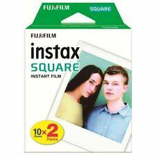 Fujifilm Instax Square Film Pellicola Istantanea, Confezione da 20 Pezzi