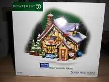 Dept 56 North Pole Village Mickey'S Cratchits' Cottage Nib *Sealed*