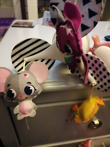 TINY LOVE COT. MOBILE MOUSE DUCK FOX