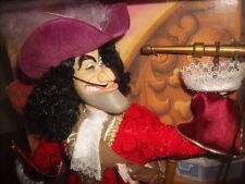 "DISNEY PETER PAN CAPTAIN HOOK DISNEY MASTERS OF MALICE DOLL NEW 12"" Mattel"