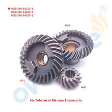 For Tohatsu Nissan Outboard Motor Gear 2 2.5HP 3.5 4HP 5HP 6HP 369 FOR a SET