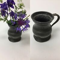 WONDERFUL ANTIQUE Georgian Pewter Tankard