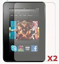 "Set 2 Screen Protector for 7"" Amazon Kindle Fire HD Tablet PC Scratch Spill"