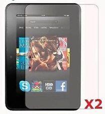 "Set 2 Protector De Pantalla De 7 ""de Amazon Kindle Fire Hd Tablet Pc Cero Derrames"