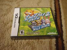 ZhuZhu Pets 2: Featuring The Wild Bunch Nintendo Ds