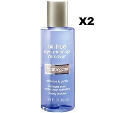 NEUTROGENA® OIL-FREE EYE MAKEUP REMOVER*2 BOTTLE -3.8OZ /112ml EACH BOTTLE