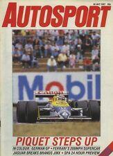 AUTOSPORT 23rd LUGLIO 1987 * Enna F3000 e SIERRA RS 500 *