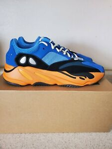 New DS 100% Authentic Adidas Yeezy Boost 700 Bright Blue Size 12 GZ0541