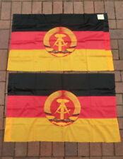 sehr selten// rar Flagge DDR Fahne Modellflagge Höhe 20 cm NEU Made in GDR