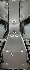 "YAMAHA RAPTOR 700R FULL FRAME SKID PLATE .125 Thick (1/8"") RAPTOR GLIDE CHASSIS"