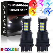 10000K Blue 30SMD LED Daytime Running Light DRL Bulbs 3156 3157 3757 4114 4157