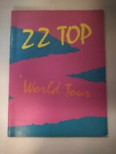 Zz Top World Tour Concert Booklet 1981