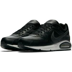 Mens Nike Air Command Leather Trainers 749760 001 Black/Grey Size UK 9.5_10.5_12