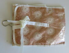New Stylish Pouts Beige and Cream Print Wash Bag with Hanging Hook
