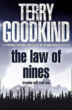 The Law of Nines, Terry Goodkind | Hardcover Book | Good | 9780007303656