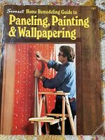 Vintage SUNSET Magazine August 1976 Lane Publishing Remodeling Guide To Walls