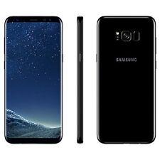 Unlocked Samsung Galaxy S8 G950U G950U1 Black AT&T TMobile Cricket GSM Used