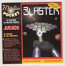 *** Brick Blaster *** version Espagnol - CDRom PC - Neuf - vintage 1999