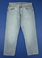 Replay jeans uomo usato regular vintage W40 tg 54 denim blue boyfriend T5721