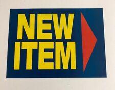 New Item Display Sale Price Signs Shelf 4 X55 50pcs
