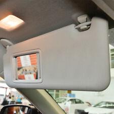 Left Driver Side Gray Sun Visor With Light For Toyota RAV4 2006 - 2011