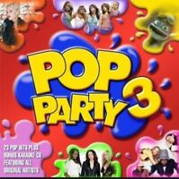 POP PARTY 3 various (2X CD compilation, 2005) very good condition, dance pop
