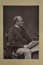 Fine 1890 Cabinet Card Portrait Photo Lord Cranbrook Politician W&D Downey
