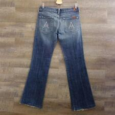 7 Seven for All Mankind A Pocket Women's Boot Cut Jeans Size 27 Blue