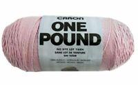 Yarnspirations Caron One Pound (Soft Pink) 812 Yards Yarn Knit Crochet - (16 oz)