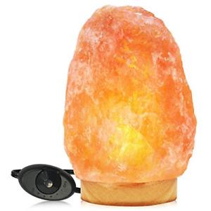 Himalayan Glow Natural Pink Salt Lamp,Night Light,Hand Carved Crystal Salt Lamp