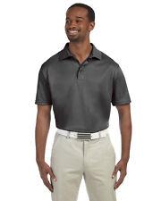 NEW Harriton Polo Shirt Men's Short Sleeve 4 oz. Polytech M315 Size 3XL Charcoal